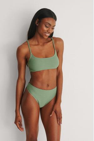 NA-KD Kvinna Bikinis - Recycled Bikiniunderdel Med Hög Midja