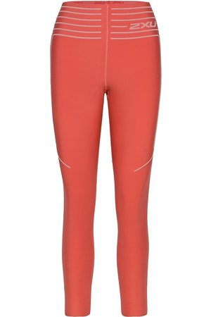 2XU Kvinna Träningstights - No Distraction Hi-Rise Compre Running/training Tights Rosa