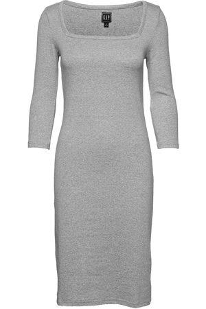 GAP Kvinna Klänningar - Modern Squareneck Dress Dresses Everyday Dresses