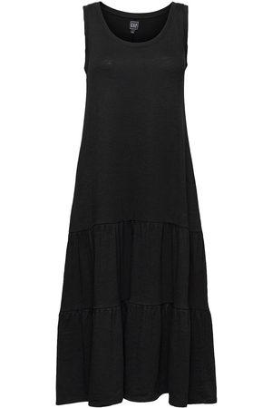 GAP Kvinna Mönstrade klänningar - Sl Tiered Maxi Drs Dresses Everyday Dresses Multi/mönstrad