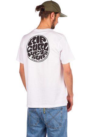 Rip Curl Man Kortärmade - Wettie Essential T-Shirt white