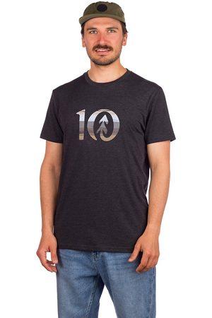 tentree Spruce Stripe Ten T-Shirt meteorite black heather