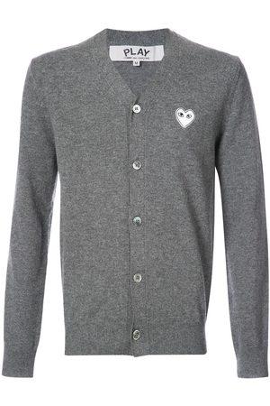 Comme des Garçons Cardigan with white heart