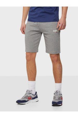 Napapijri Man Shorts - N-Ice Shorts Grey Melange