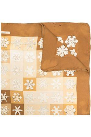 Hermès Pre-Owned sjal med snöflingor