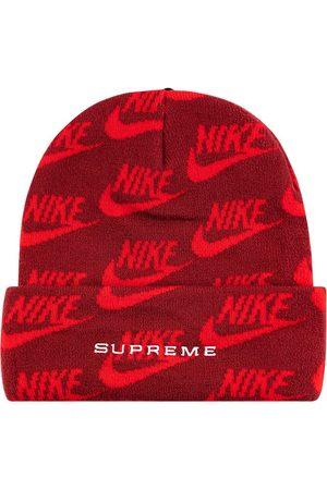 Supreme X Nike mössa i jacquard med logotyp