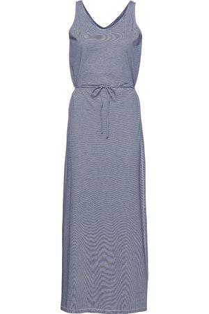 SEBAGO Kvinna Casual klänningar - Dks Linen Jersey Maxi Dress Maxiklänning Festklänning