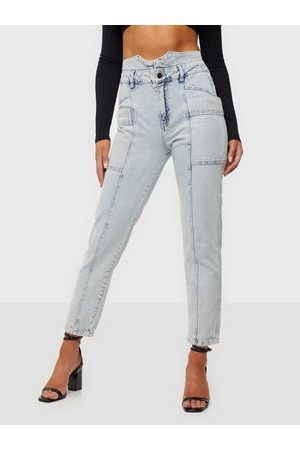 Co`Couture Kvinna Mom - Ocean Jeans Mom Jeans