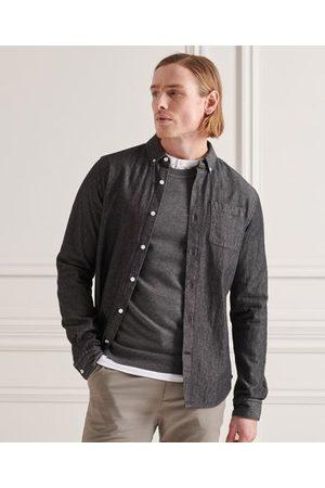 Superdry Klassisk denimskjorta med buttondownkrage