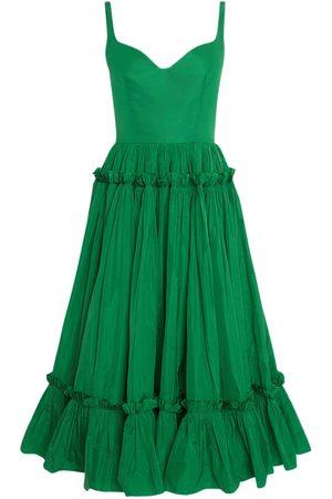 Alexander McQueen Kvinna Ärmlösa klänningar - Sustainable Taffetà Sleeveless Dress