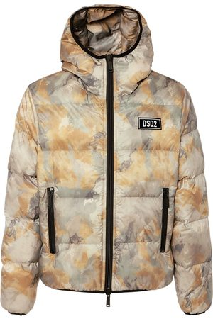 Dsquared2 Faded Camouflage Tech Down Jacket