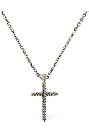 EMANUELE BICOCCHI Cross Pendant Chain Necklace