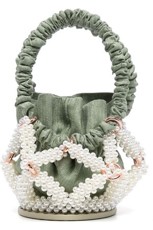0711 Pärlprydd bucketbag