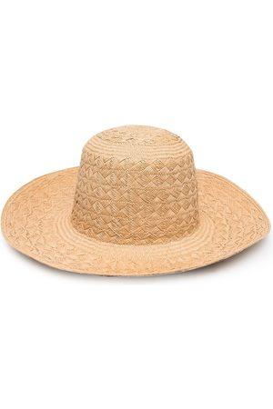 Saint Laurent Vävd hatt i bast