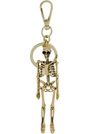 Alexander McQueen Nyckelring med skelett