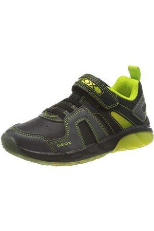Geox Pojkar J Spaziale Boy A Sneaker, lime25 EU