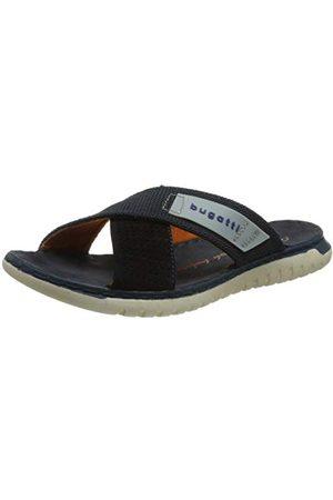 Bugatti Herr 321707876914 platta sandaler, Mörkblå Mörkblå Mörkblå - 43 EU
