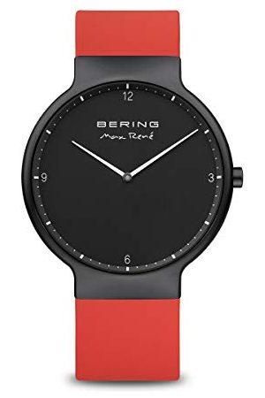 Bering Herr analog kvartsklocka med silikonarmband 15540–523