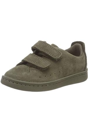 Clarks Unisex barn Nate Maze Sneaker, oliv nubuckla28 EU