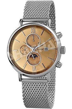 Engelhardt Herr analog mekanik klocka med rostfritt stål armband 387727028018