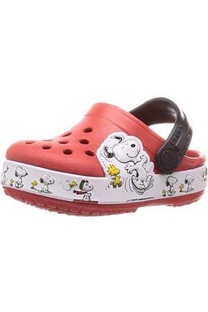 Crocs Unisex barn FL Snoopy Woodstock Cg K fritid Flip Flops Sportwear, flamma - 24 EU