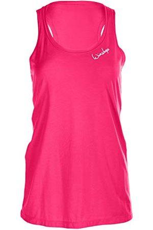 Winshape Damer ultra lätt modal-tanktop MCT006, dansstil, fitness fritid sport yoga träning axelband/cami skjorta, Deep- , XS