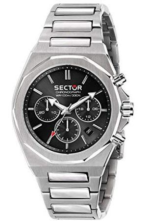 Sector No Limits Herr analog kvartsklocka med rostfritt stål armband R3273628002