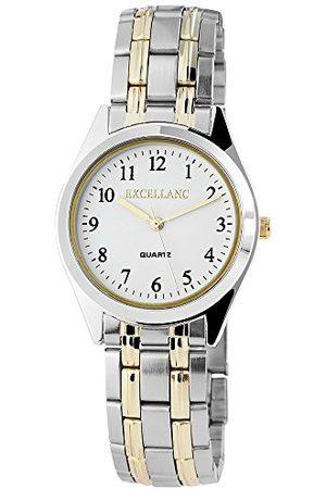 Excellanc Herr analog kvartsklocka med olika material armband 280112000037