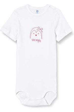 Sanetta Baby-pojkar kort ärm kropp kort ärm med ett förtjusande Little Beauty Print på bröstet