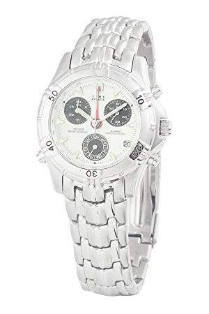 Time Force Herr kronograf kvartsur med rostfritt stål armband TF6679-04M