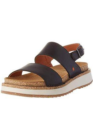 Art Unisex vuxen Vancouver sandaler med öppen tå och röd, 9 UK, Blue Jeans Jeans5 UK