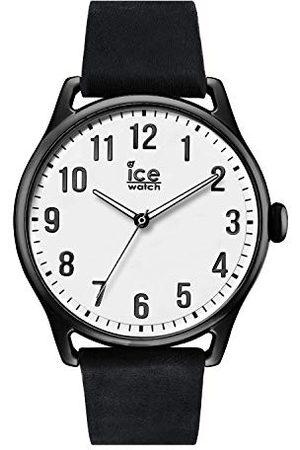 Ice-Watch – ICE tid svart – armbandsur för män med läderrem – 013041 (stor)