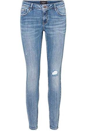 Vero Moda Damer VMLYDIA LR SKINNY DESTR JS LI320 GA NOOS jeans, (medium denim), M/30