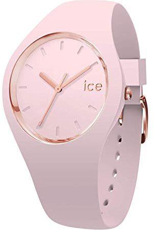 Ice-Watch – Ice Glam pastell dam – damklocka med silikonarmband bandet Small /