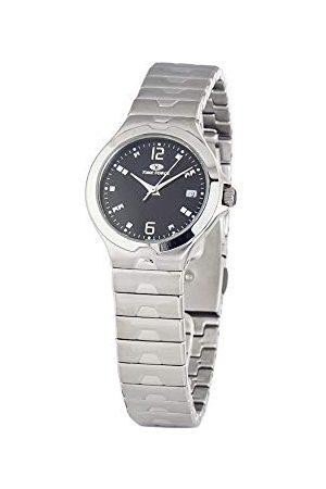Time Force Unisex vuxen analog kvartsklocka med rostfritt stålrem TF2580M-01M