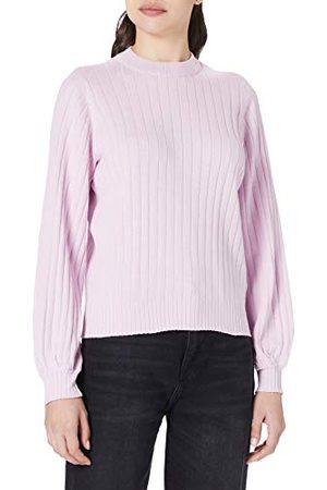 Pieces Dam pcgoldie Ls O-Neck Knit Bf Bc pullover