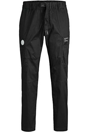 Jack & Jones Män Jjiace jjjpete Cargo Pants Yo Black Ps Hose