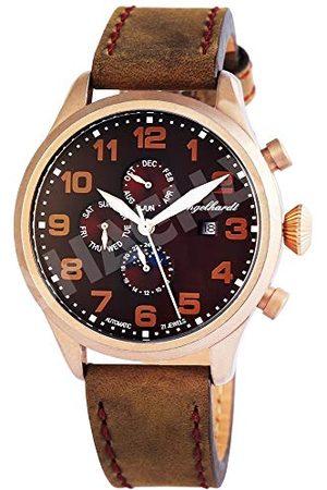 Engelhardt Herr analog mekanik klocka med läderarmband 389537029002