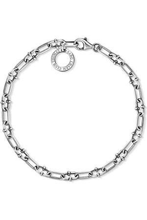 Thomas Sabo Dam herr-charm-armband berlock klubb 925 sterlingsilver X0255-637-21-L17
