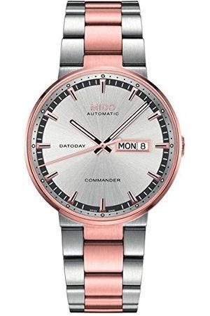 MIDO Herr analog automatisk klocka med rostfritt stål armband M0144302203180