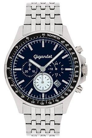 Gigandet Herrarmbandsur kronograf kvarts analog med rostfritt stål armband Volante G3-014