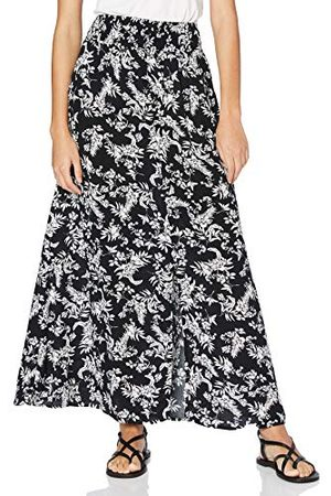 Mavi Dam stroke antik vit blomma tryckt kjol