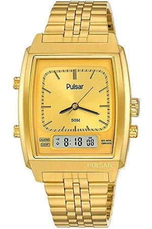 Pulsar Kvartsur med rostfritt stål armband 8431242963846