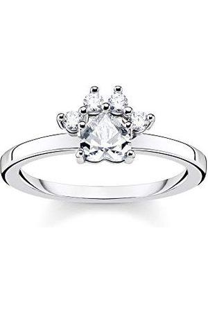 Thomas Sabo Kvinnor 925 Kula Cubic Zirconia Ring - TR2289-643-14-50
