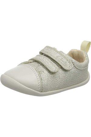 Clarks Flickor roamer Craft T Sneaker, Silver18.5 EU