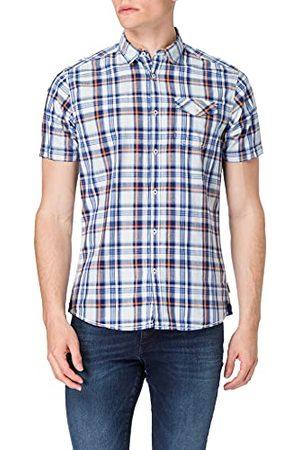 Pioneer Män kort ärm karo skjorta