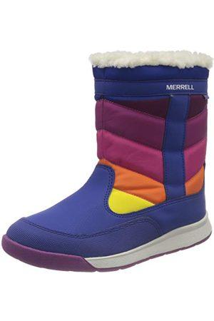 Merrell Unisex barn alpin puffer boot WTRPF promenadsko, multi33 EU
