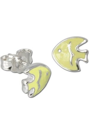 Teenie-Weenie Teenie Weenie barn och ungdomliga örhängen 925 sterlingsilver emalj VSDO605Y