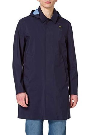 Blauer Blå Imperm/Trench Lunghi Sfoderato Nastrato Trenchcoat