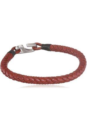 Tommy Hilfiger Casual Core herr armband rostfritt stål läder 19 cm, colore: / , cod. 2790024